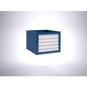 Brakel BLL475.07 ladenblok voor BL werktafel 5x lade 75 mm 600x700x475 mm RAL - Y40630141 - afbeelding 1