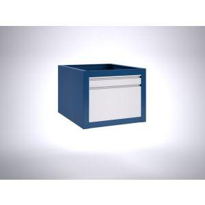 Brakel BLL475.09 ladenblok voor BL werktafel 1x lade 75 mm en 1x lade 300 mm 600x700x475 mm RAL - Y40630143 - afbeelding 1