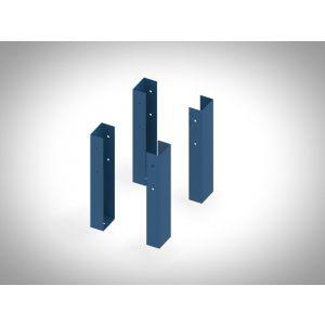 Brakel BSHO4 pootverhoging voor BS werkbank RAL - Y40630082 - afbeelding 1