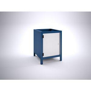 Brakel BW60.01 werkbankblok BW60 1 deur 600 mm 600x700x820 mm RAL - Y40630037 - afbeelding 1