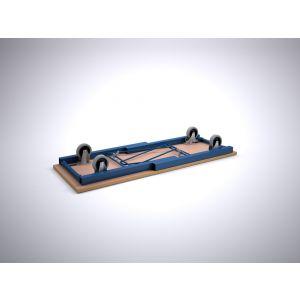 Brakel FWM150 werkbank inklapbaar met wielen 1500x600x860 mm RAL - Y40630051 - afbeelding 1