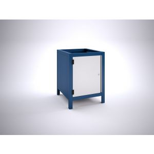 Brakel BW60.01 werkbankblok BW60 1 deur 600 mm 600x700x820 mm RAL - A11500037 - afbeelding 1