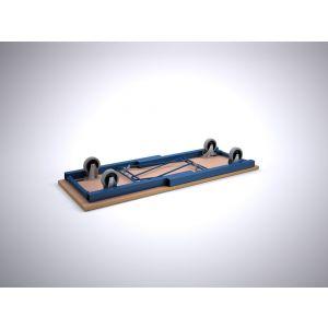Brakel FWM150 werkbank inklapbaar met wielen 1500x600x860 mm RAL - A11500051 - afbeelding 1