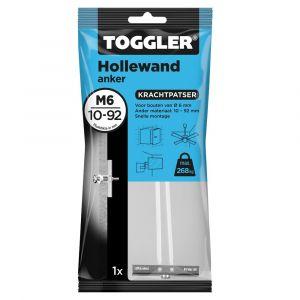 Toggler M6-1 hollewandanker M6 zak 1 stuks plaatdikte 10-92 mm - Y32650039 - afbeelding 1