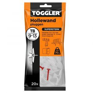 Toggler TB-20 hollewandplug TB zak 20 stuks plaatdikte 9-13 mm - Y32650013 - afbeelding 1