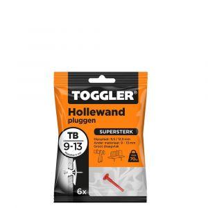 Toggler TB-6 hollewandplug TB zak 6 stuks plaatdikte 9-13 mm - Y32650010 - afbeelding 1