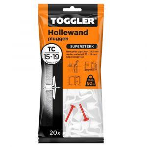 Toggler TC-20 hollewandplug TC zak 20 stuks plaatdikte 15-19 mm - Y32650019 - afbeelding 1