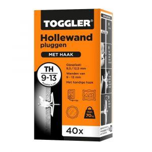 Toggler TH-40 hollewandplug TH doos 40 stuks plaatdikte 9-13 mm - Y32650031 - afbeelding 1