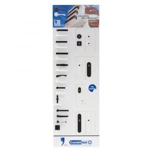 GPF bouwbeslag ARVI93008000 presentatie GPF CombiVari wanddisplay zwart-wit - A16007168 - afbeelding 1