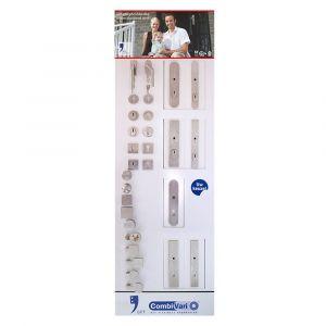 GPF bouwbeslag ARVI93009000 presentatie GPF CombiVari wanddisplay veiligheidsgarnituren - Y21007936 - afbeelding 1