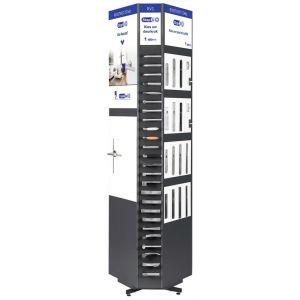 GPF bouwbeslag ARVI95100010 verkoopdisplay GPF CombiVari RVS TWO antraciet - Y21008435 - afbeelding 1