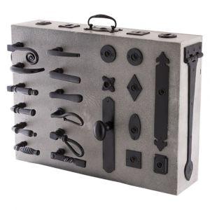 GPF bouwbeslag ARVI95426000 presentatie GPF smeedijzer koffer smeedijzer zwart - A16007184 - afbeelding 1