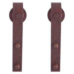 GPF bouwbeslag 0500.70 schuifdeurhanger set Lanka voor extra deur roest - A16006622 - afbeelding 1