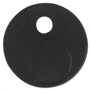GPF bouwbeslag 0582.61 anti-jump voor schuifdeursysteem zwart - A16006596 - afbeelding 1