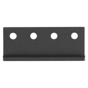 GPF bouwbeslag 0584.61 koppelstuk rails voor schuifdeursysteem zwart - A16006610 - afbeelding 1