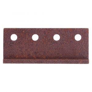 GPF bouwbeslag 0584.70 koppelstuk rails voor schuifdeursysteem roest - A16006611 - afbeelding 1
