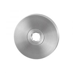 GPF bouwbeslag 1100.05 rond click rozet 50x6 mm RVS geborsteld - A16004492 - afbeelding 1