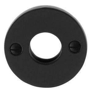 GPF bouwbeslag 6100.05L/R rozet rond 51x4 mm links-rechts smeedijzer zwart - A16004462 - afbeelding 1