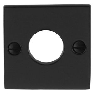GPF bouwbeslag 6100.08 rozet vierkant 52x52x4 mm smeedijzer zwart - A16004465 - afbeelding 1