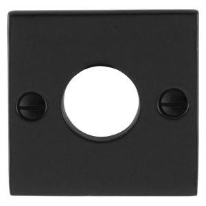 GPF bouwbeslag 6100.08L/R rozet vierkant 52x52x4 mm links-rechts smeedijzer zwart - A16004466 - afbeelding 1