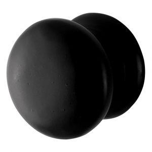 GPF bouwbeslag 6500.25 meubelknop 25 mm hoogte 25 mm smeedijzer zwart - A16006967 - afbeelding 1