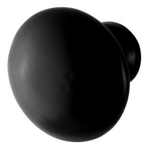 GPF bouwbeslag 6504.35 meubelknop 35 mm hoogte 32 mm smeedijzer zwart - A16006974 - afbeelding 1