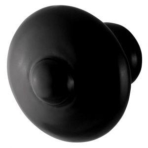 GPF bouwbeslag 6506.40 meubelknop 40 mm hoogte 36 mm smeedijzer zwart - A16006978 - afbeelding 1