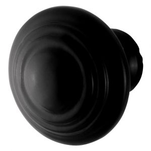 GPF bouwbeslag 6510.40 meubelknop 40 mm hoogte 38 mm smeedijzer zwart - A16006983 - afbeelding 1