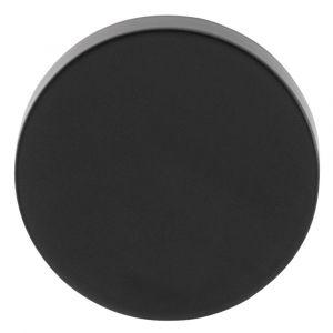 GPF bouwbeslag 6817.60 rond veiligheids buitenrozet SKG*** blind smeedijzer zwart - A16005982 - afbeelding 1