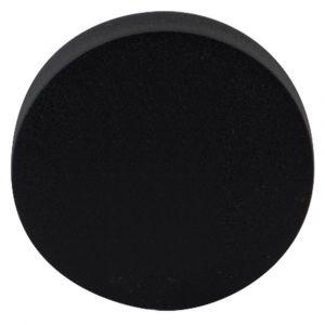 GPF bouwbeslag 8817.61 rond veiligheids buitenrozet SKG*** blind zwart - A16005997 - afbeelding 1