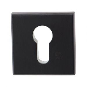 GPF bouwbeslag 9814.P1 vierkant veiligheids binnenrozet SKG*** PVD antraciet - A16005949 - afbeelding 1