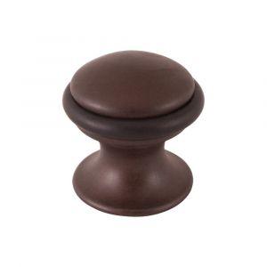 Mandelli 109 deurstopper rond 28x29 mm antiek brons - A16002818 - afbeelding 1