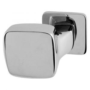 Mandelli 1621L Carre gatdeel deurkruk links op rozet chrome - A16002726 - afbeelding 1