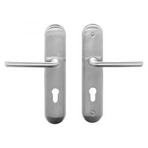 Mandelli VH55 D veiligheids garnituur D compleet SKG*** met kruk-kruk PC55 satin chrome - A16005658 - afbeelding 1