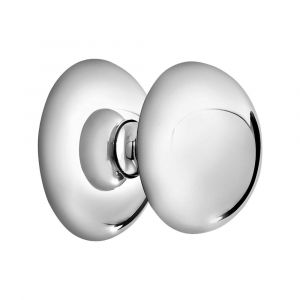 Mandelli 284/A voordeur knop 65 mm draaibaar chrome - A16003840 - afbeelding 1