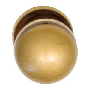 Mandelli 854L/GIR knopkruk op rozet 911 links draaibaar brons - A16003928 - afbeelding 1