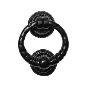 Kirkpatrick KP0846 deurklopper Ring 165 mm smeedijzer zwart - A16000228 - afbeelding 1
