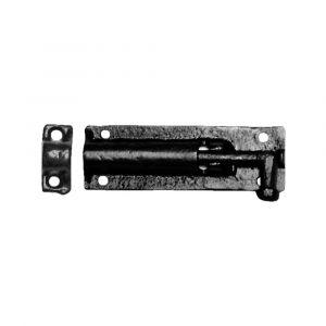 Kirkpatrick KP1154 deurgrendel 101x38 mm smeedijzer zwart - A16000203 - afbeelding 1