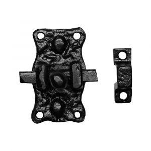 Kirkpatrick KP1196 krukschuif 63x35 mm smeedijzer zwart - A16000211 - afbeelding 1