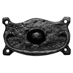 Kirkpatrick KP1539 meubelgreep 105x60 mm smeedijzer zwart - A16006720 - afbeelding 1