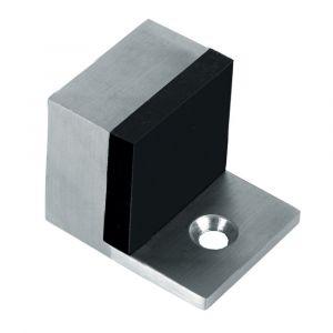 Artitec deurbuffer vloermontage vierkant 32x32x40 mm RVS mat - A23000679 - afbeelding 1