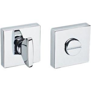 Artitec Collectie Interior Accents WC garnituur vierkant chroom glans WC 8 mm - A23001228 - afbeelding 1