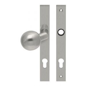 Artitec RVS Woning knop-kruk langschild smal rechthoek LS RVS mat PC72 - A23001337 - afbeelding 1