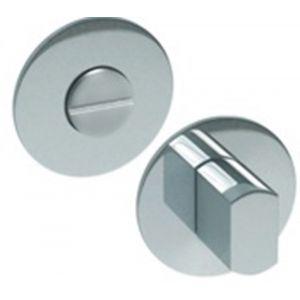 Artitec RVS Woning WC garnituur 2 mm vlakrozet rond FR RVS mat WC 6-7 mm - A23001218 - afbeelding 1