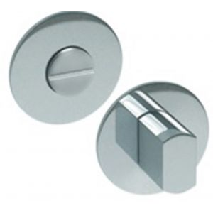 Artitec RVS Woning WC garnituur 2 mm vlakrozet rond FR RVS glans WC 6-7 mm - A23001220 - afbeelding 1