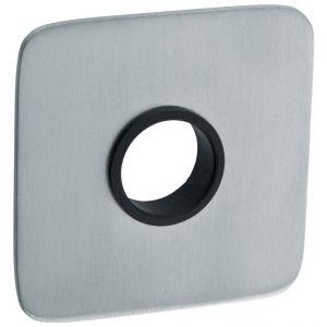 Artitec RVS Woning krukrozet paar vierkant 2 mm vlakrozet SF2 RVS mat - A23001160 - afbeelding 1
