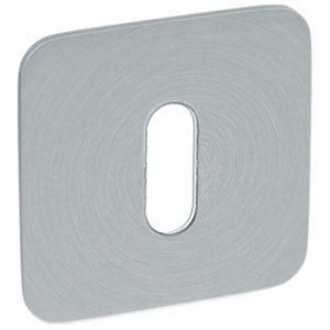 Artitec RVS Woning sleutelrozet paar vierkant 2 mm vlakrozet SF2 RVS mat - A23001185 - afbeelding 1