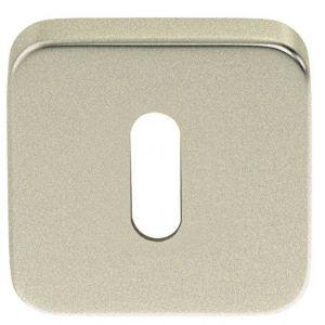 Artitec Luxuria sleutelrozet paar LU 50x50 mm mat nikkel PVD - A23001191 - afbeelding 1