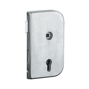 Artitec glasdeur slot Office DIN rechts RVS mat blind - Y32700017 - afbeelding 1