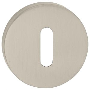 Artitec Luxuria sleutelrozet paar LU rond diameter 52 mm mat nikkel - A23001187 - afbeelding 1